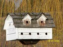 One of the many swallow houses in and around Woodland Pit